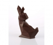 Moule chocolat Barry lapin origami - La Boutique du Pâtissier