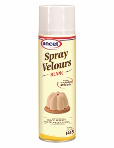 Sprays velours blanc - La Boutique du Pâtissie
