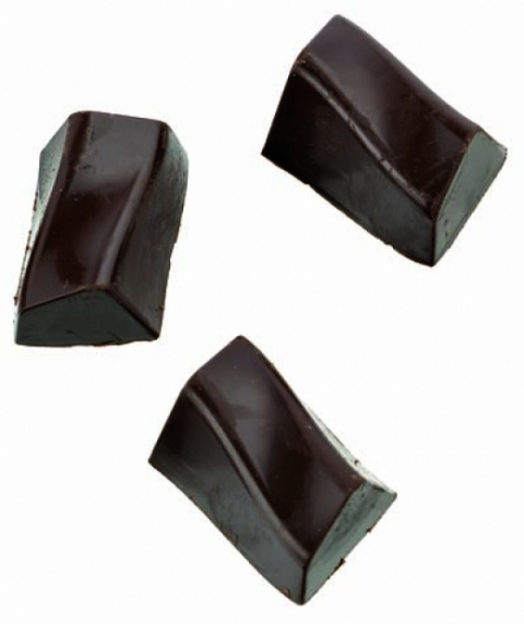 Moule Chocolat Bonbon Rectangle Zig Zag - La Boutique du Pâtissier