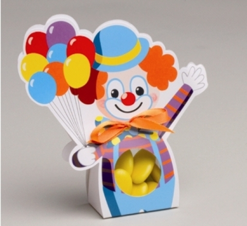 Ballotin Dragée Clown - La Boutique du Pâtissier