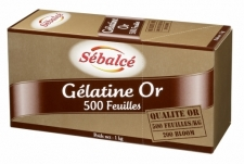 Feuille Gélatine Or 200 Bloom - La Boutique du Pâtissier