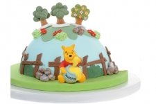 Pack Décoration Winnie Ourson Pâte à Sucre - La Boutique du Pâtissier