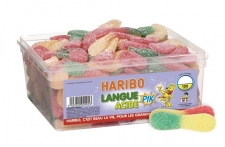 Langue Acide - Haribo - La Boutique du Pâtissier